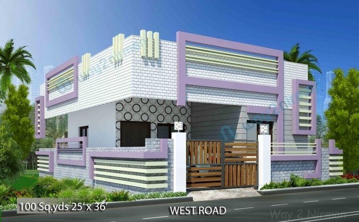 Inspirational Way2Nirman: House Plans With Plan, Elevation & Isometric View Photos. Vastu Home Designs In Telangana Pic