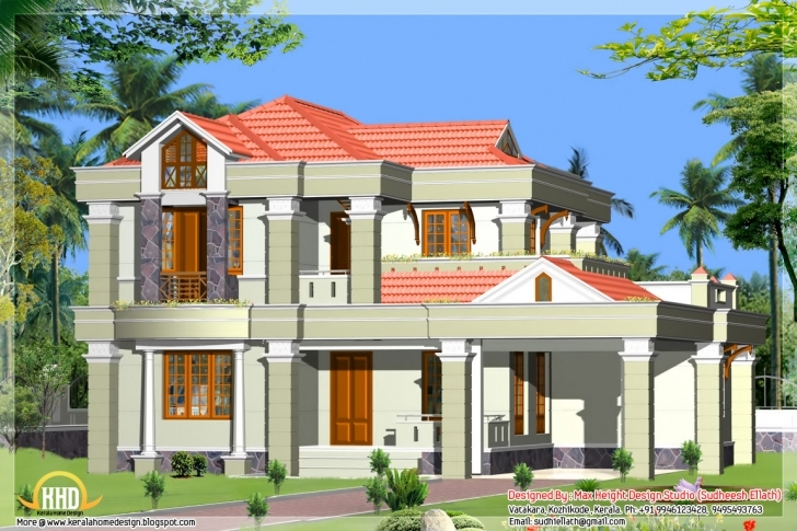 Inspiring 5 Beautiful Indian House Elevations - Kerala Home Design And Floor Plans Beautiful Indian House Pic Photo