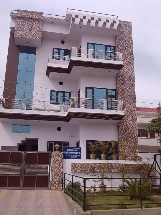 Inspiring Beautiful House Front Design With Tiles | Homeideas Home Front Design Tiles Image