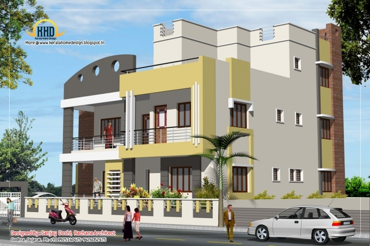 Inspiring Home Appliance: January 2012 Rachana Architects North Face Elevation Picture