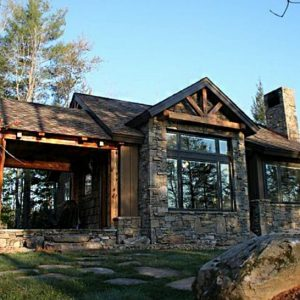Small Rustic Mountain Home Plans