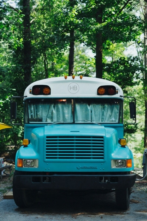 Inspiring Just Right Bus – Tiny House Swoon | Buses | Pinterest | Bluebird Converted Transportation Bus Tiny House Swoon Picture