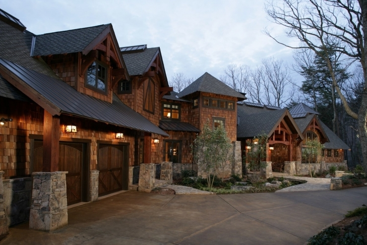 Inspiring Mountain House Design Luxury Plans Rustic Cheap Ideas With Loft One Luxury Rustic Mountain Home Plans Picture