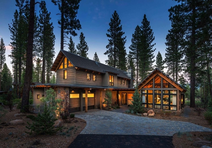 Inspiring Rustic Mountain House With A Modern Twist In Truckee, California Modern Rustic Mountain Home Image