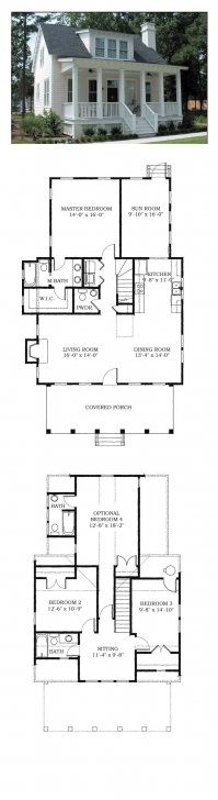 Interesting 171 Best House Plans Images On Pinterest | Little House Plans, Ranch House Map Design 16*50 Image