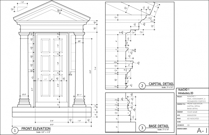 Interesting 28+ Collection Of Autocad Drawings For Practice Civil | High Quality Autocad 2D Civil Drawings For Practice Image