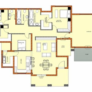 Simple 4 Bedroom House Plans South Africa