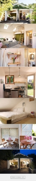 Interesting 400 Sq Ft Garage Converted To A Guest House With Minimal Coastal Retreat Tiny House Swoon Pic