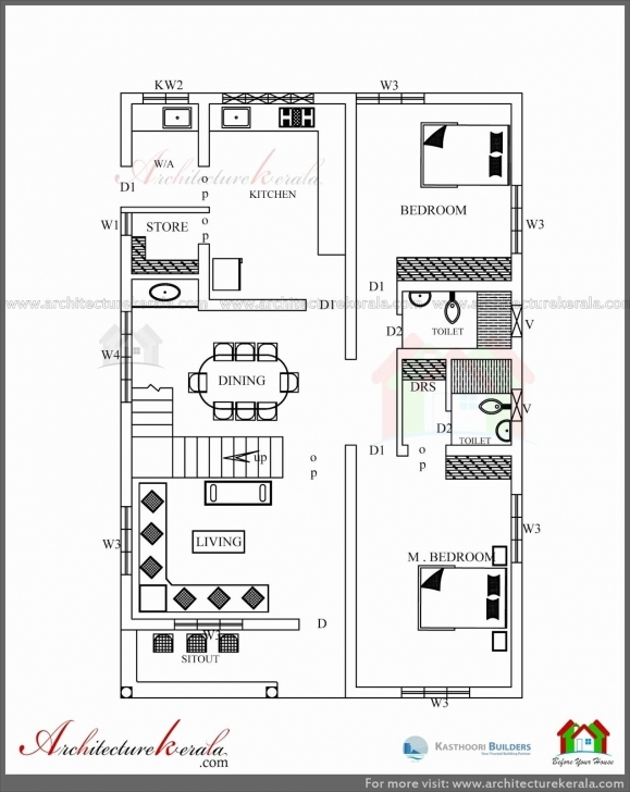 Interesting 400 Sq Ft House Plans In Kerala Luxury 2 Bedroom House Plans Kerala 2 Bedroom House Plans Kerala Style 1200 Sq Feet Pic