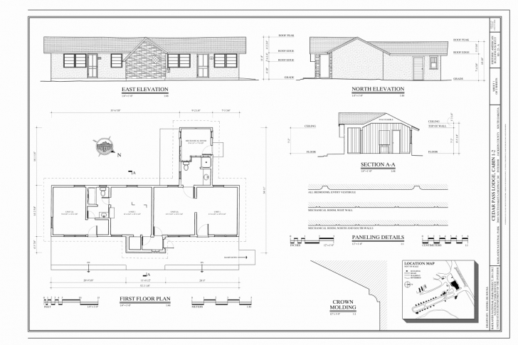 Interesting 50 Unique Pics Simple House Plan Elevation - Home Inspiration Simple Model Plan And Elevation Section Picture