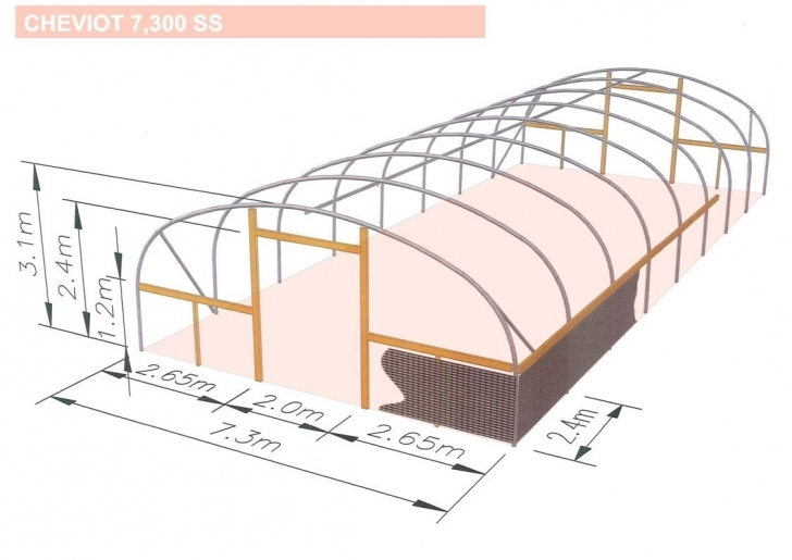 Interesting Apartments : Sheep Polytunnel M Wide Sketch Plan Of Sheep House Sheep Housing Plans Photo