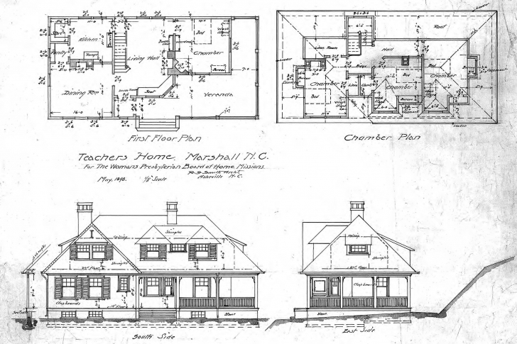 Interesting Architectural House Plans And Elevations Luxury Unique House Plan House Planning With Elevation Image