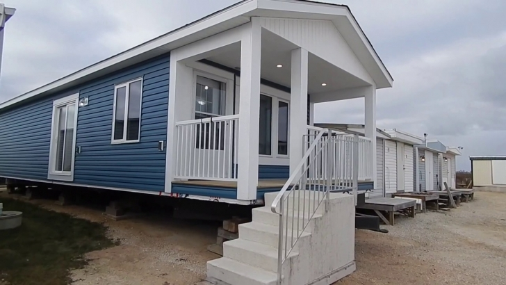 Interesting Cottager Series Mobile Home - 16 X 50 Ft. - Youtube 16 X 50 House Picture