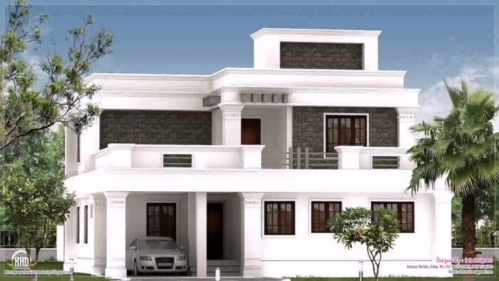 Interesting Flat Roof Designs For Houses - Homes Floor Plans Images Of Flat Roofed Houses Pic