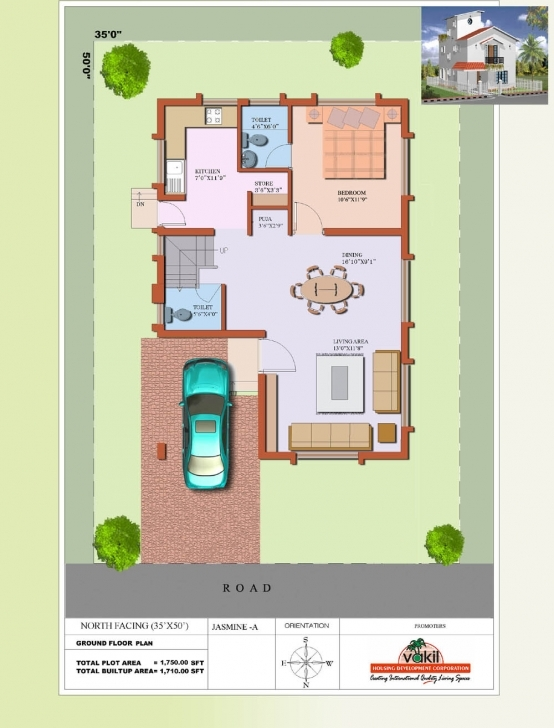 Interesting Ground Floor House Plans East Face Fresh North Facing Jasmine Gf North Face 30X40 Site Plan Picture