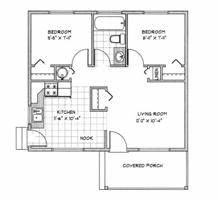 Interesting Home Architecture: Kerala House Plans Under Square Feet Home Design 1000 Sq Ft House Plan Photo