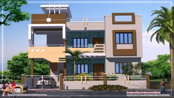 Interesting Indian Home Design Photo Gallery - Youtube Indian House Photo Gallery Image