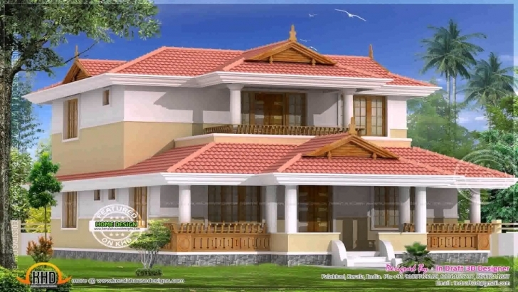 Interesting Old South Indian House Design - Youtube South Indian House Pic Photo