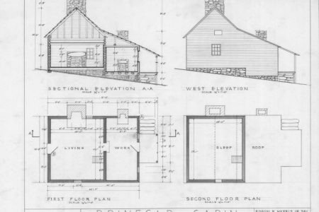 Plan Section Elevation Drawings