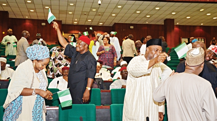 Interesting Rowdy Session As Reps Reject Executive Orders By President Buhari Latest News In Nigeria House Of Representative Photo