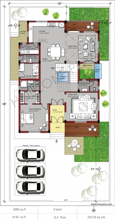 Latest Duplex House Plans Indian Style - Gebrichmond 4 Bedroom Modern House Plans India Picture