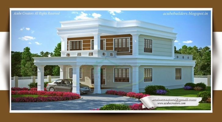 Latest House Designs Of July 2014 Youtube Cool Home Design Photos | Home House Model Kerala 2014 Photo
