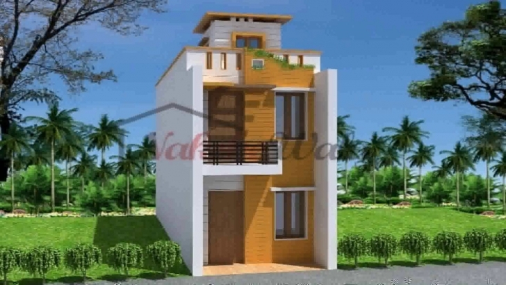 Latest Indian House Design Front Elevation - Youtube 15×50 House Elevation Pic