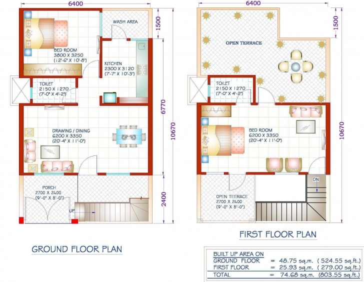 Latest Modern House Plans Square Feet Inspirations Also Enchanting 1000 Sq 1500 Sq Ft House Plan With Car Parking Photo