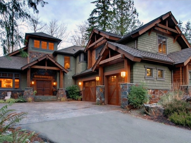 Latest Mountain Rustic House Plans Style Craftsman Lodge Home With Luxury Mountain Lodge Home Plans Picture