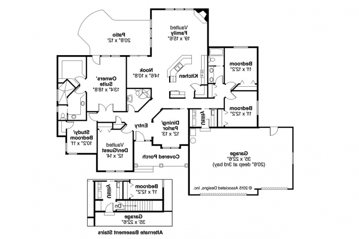 Latest Tuscan House Plans - Brittany 30-317 - Associated Designs Tuscan House Plan Photo