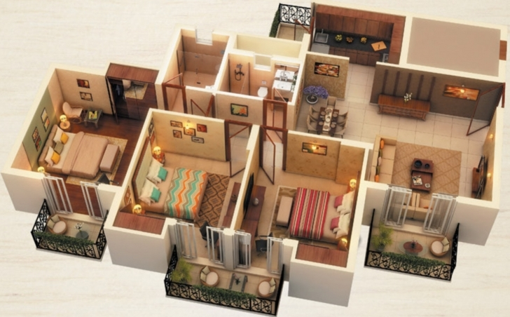 Marvelous 1500 Sq Ft House Plans In 3D | Daily Trends Interior Design Magazine 1500 Sq Ft House Plans 3D Photo