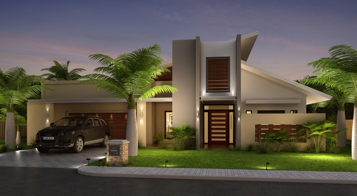 Marvelous Beautiful Home Front Elevation Designs And Ideas 3D Home Front Elevation Images Image