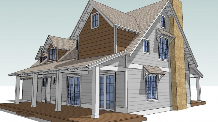 Marvelous Design An Attic Roof Home With Dormers Using Sketchup. Part 4. Final Roof Dormer Designs Image