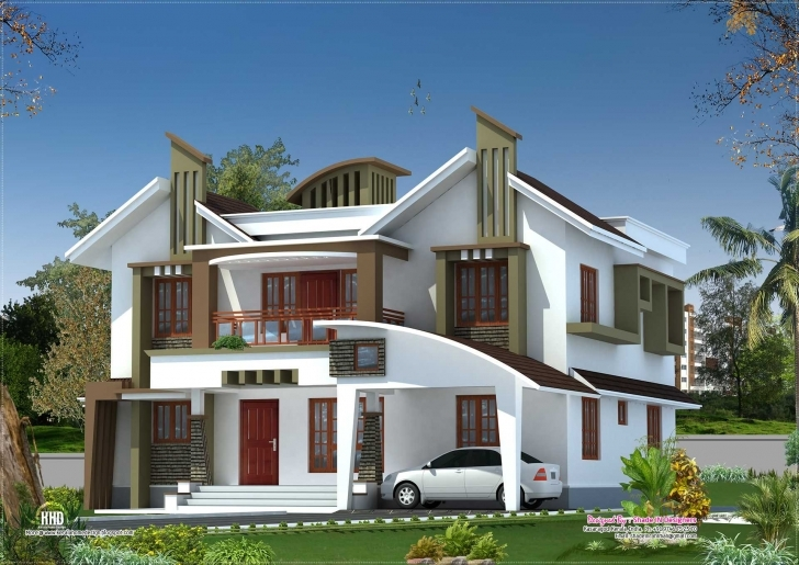 Marvelous Front Elevation Of Single Floor House Kerala Pictures Including Kerala House Elevation 2018 Photo