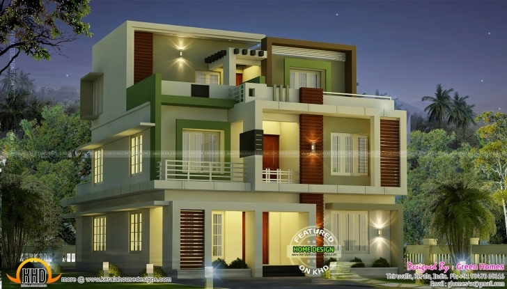 Marvelous Ideas Luxury Home Design Minimalist Latest 2Nd Floor Amazing New 2Nd Floor House Front Design Picture