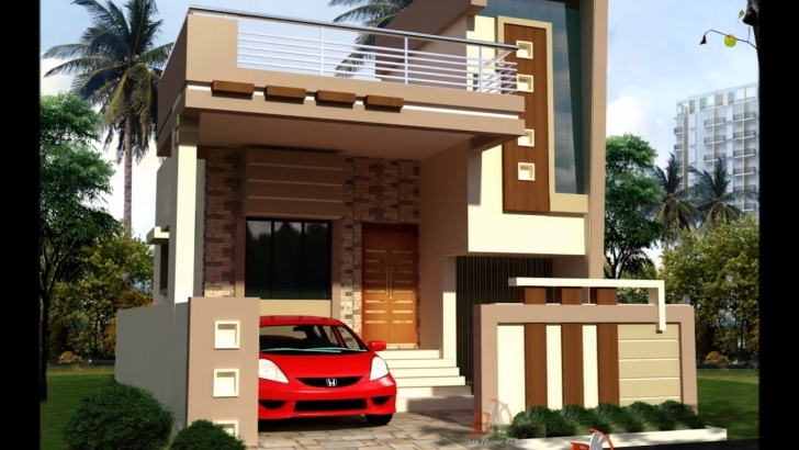 Marvelous Small Front House Designs - Youtube House Front Design Photo