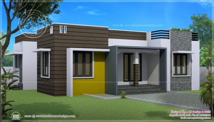 Marvelous Small Home Design One Floor Best Of Awesome Idea Small Single Storey Small Single Storey House With Garage Image