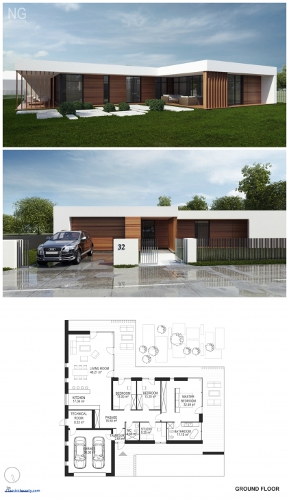 Marvelous Small Modern Home Plans Beautiful Small Modern House Plan And Modern House Plan And Elevations Image