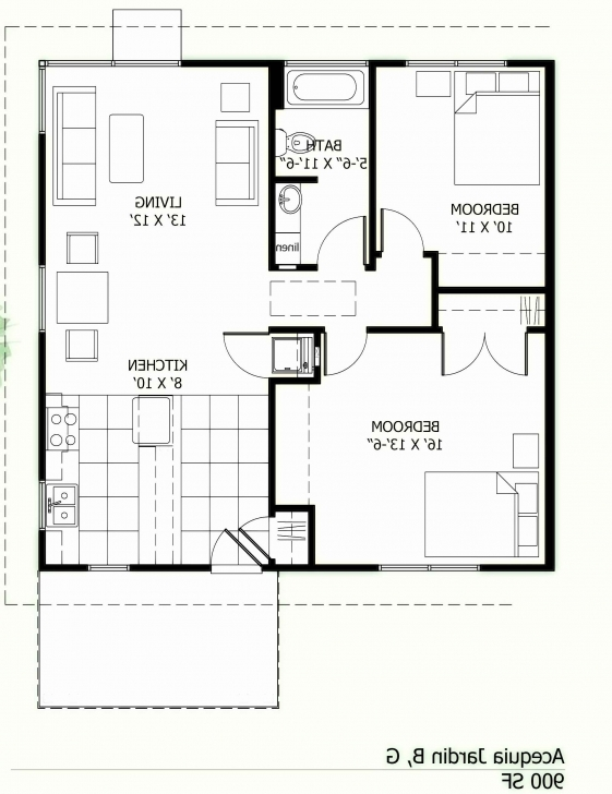 Most Inspiring 1000 Sq Ft Cabin Plans Along With 600 Sq Ft House Plans 2 Bedroom 1000 Sq Ft House Plans Pic
