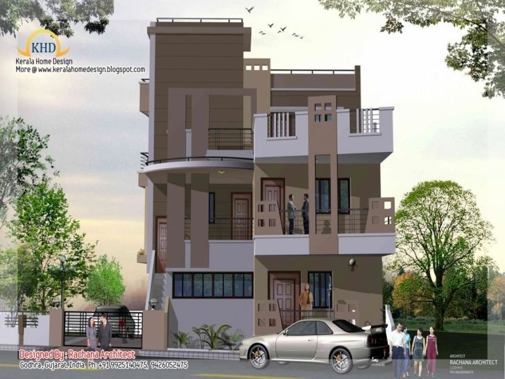 Most Inspiring 3 Story Modern House Plans Vibrant Creative 16 - Tiny House 16Ft Front Desing For Home Photo