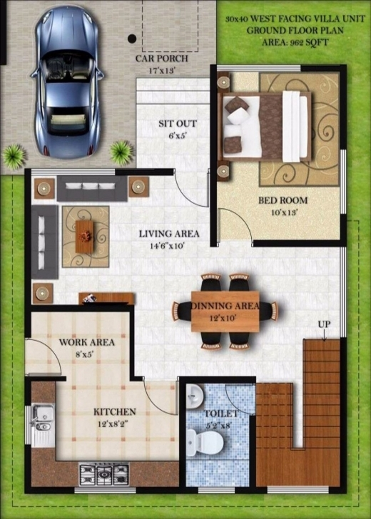 Most Inspiring 30×40 House Plans India Awesome Inspiring 20 X 60 House Plan Design West Facing House Plans 15 X 60 Photo
