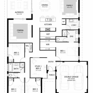 House Plans South Africa 4 Bedroomed