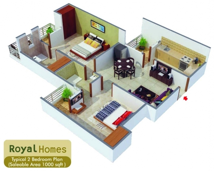 Most Inspiring 800 Sq Ft House Plan Indian Style Luxury 800 Sq Ft Duplex House 3D Luxery House Plan1200 Sq Ft Picture