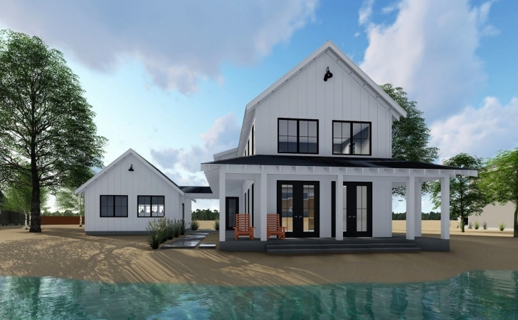 Most Inspiring 94+ Modern Farmhouse Plans Single Story - Story Dream Homes Modern Farmhouse Plans One Story Picture