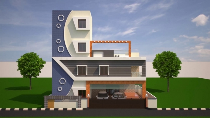 Most Inspiring Home Front Elevations - Youtube Sn Opritchsfence House Front Elivation Image