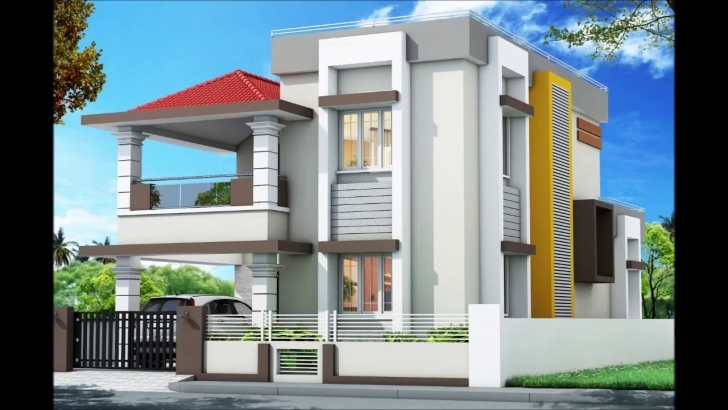 Most Inspiring West Facing House 01 With Plan & 3D Image - Youtube Front Elevation Of Indian House 30X50 Site Single Floor Image