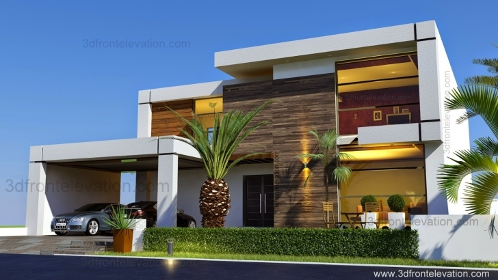 Must See Contemporary House Elevations - Homes Floor Plans Modern Home Plan And Elevation Photo
