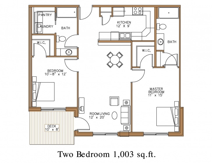 Must See Floor Plan At Northview Apartment Homes In Detroit Lakes | Great Image Of 2 Bedroom Floor Plan In Nigeria Picture