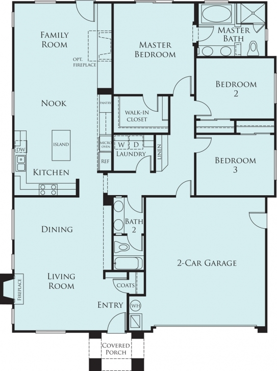 Must See Home Architecture: Modern Story House Floor Plan Contemporary Homes Simple 3 Bedroom House Floor Plans Single Story Photo