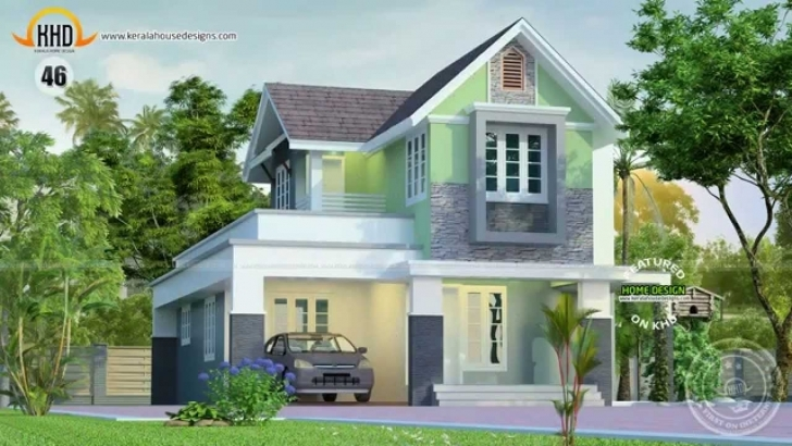 Must See House Designs April 2014 - Youtube House Model Kerala 2014 Image